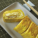 チーズ卵焼き