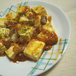 ミートソース豆腐