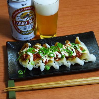 マヨキムチ餃子
